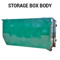 truck storage box body