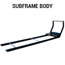 Subframe body for Switch-N-Go system